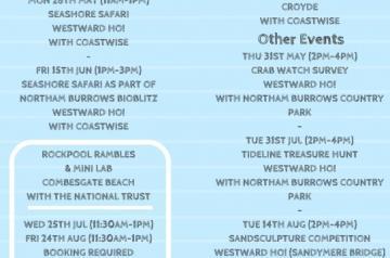 Coastal Creatures Summer Events 2018 Leaflet PAGE 2