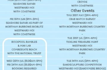 Coastal Creatures Summer Events 2018 Leaflet PAGE 2