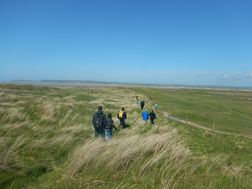 Naturally healthy walk Northam Burrows