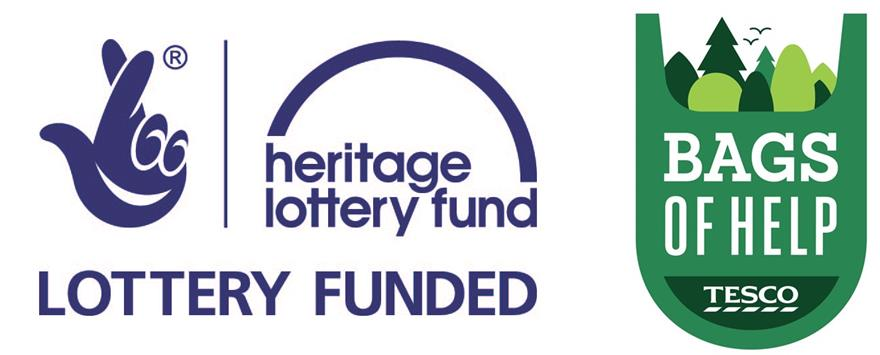 Heritage Lottery Fund and Tesco Bags of Help