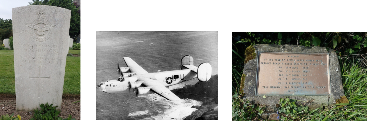 World War 2 aircraft crash images