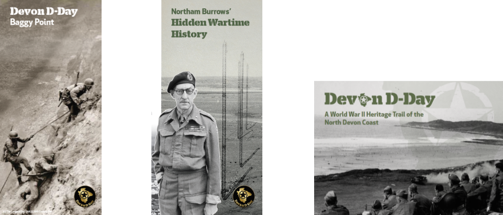 Covers of Heritage booklets
